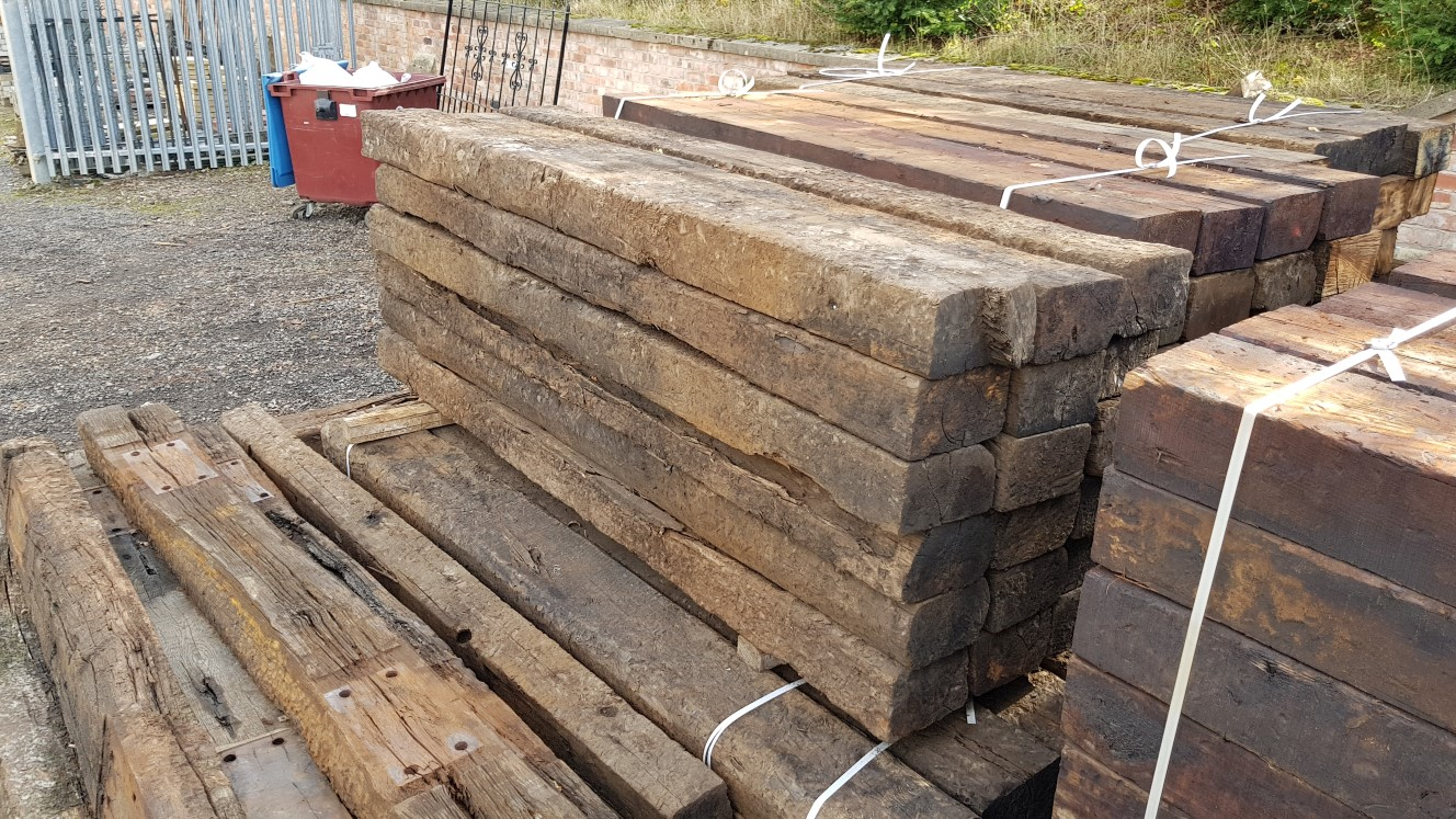 Milled Sleepers For Sale in Sydney   Statewide Sleepers